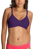 Jockey 1242 X-Cite Women's Cotton Full Figure Saree Bra-Acai