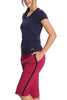 Jockey 1306 Women's Premium Cotton Capri-Amarena
