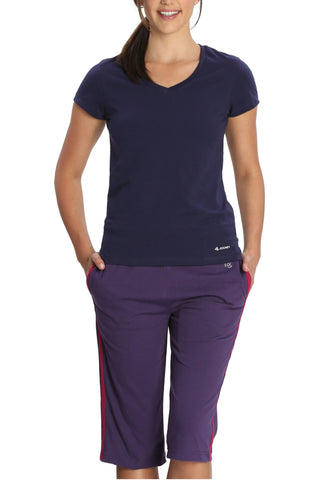 Jockey 1306 Women's Premium Cotton Capri-Mora