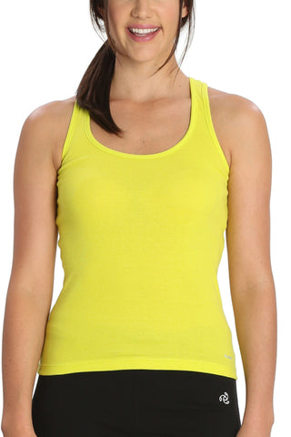 Jockey 1467 Women's premium Cotton Racer Back-Sulpher Spring