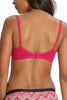 Jockey 3102 Women's Seamless Cotton Low Cut T-Shirt Bra-Pink Fever