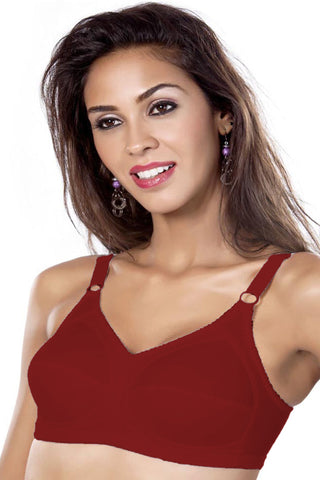 Maiden Beauty Maiden Fit Women's Saree Bra-Garnet