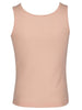 Jockey Tropical Peach Premium Cotton Girl's Tank Top-SG02