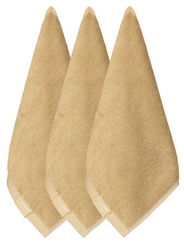 Jockey Cotton Camel Face Towel (Pack Of 3)-T301