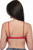 Juliet Sangeeta Women's Hoisery Non Padded T-Shirt Bra [Pack Of 2]-Tomato