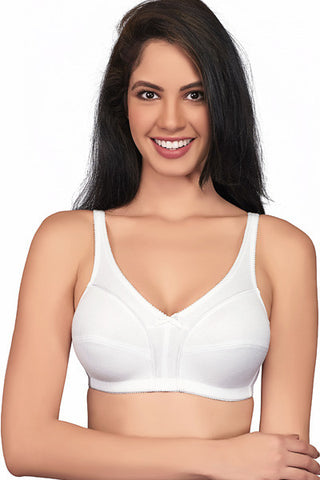 Juliet Body 60884 Women's Bra-White