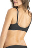 Jockey 1242 X-Cite Women's Cotton Full Figure Saree Bra-Black