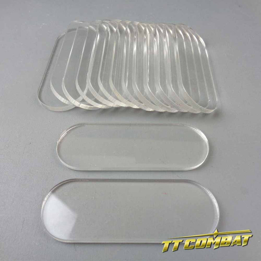 Clear Bike Bases (25 x 70mm)