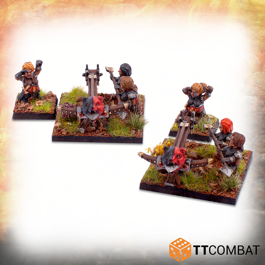 Halfling Shield Maiden Army