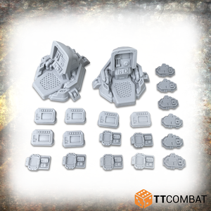 Sector 1 Manufacturing Floor White Box Bundle