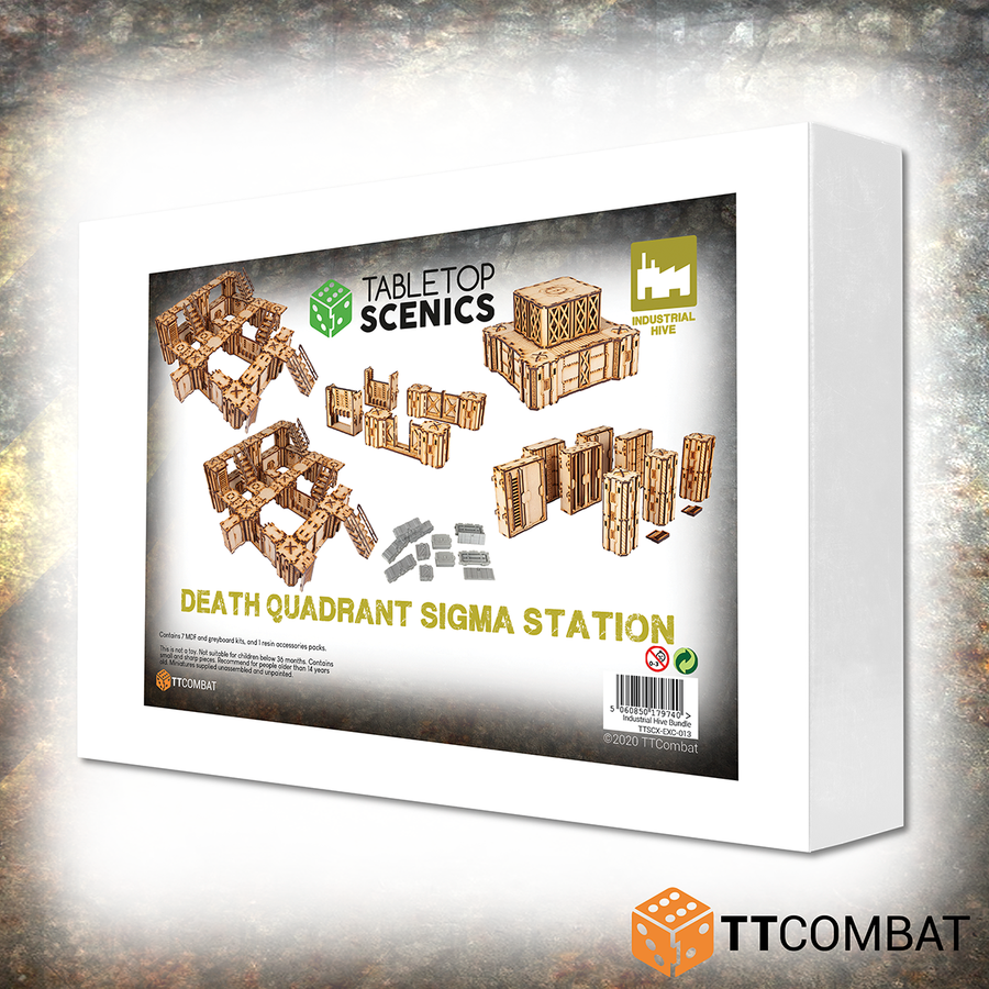 Death Quadrant Sigma Station White Box Bundle