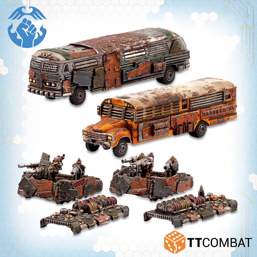 Battle / Remote Bomb Buses
