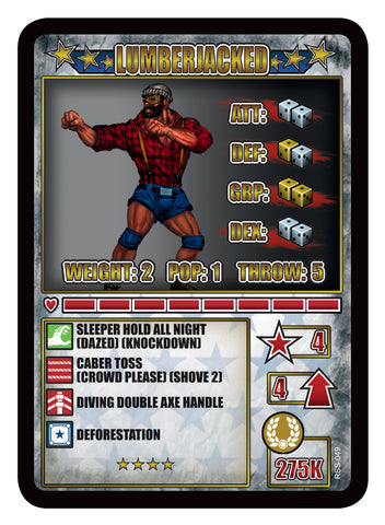 RUMBLESLAM Superstar Card