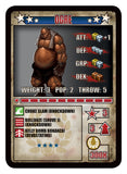 RUMBLESLAM Character Cards