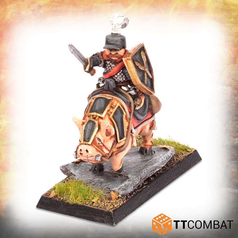 Halfling Heavy Pig Rider Lord *PRE-ORDER 14TH AUGUST*