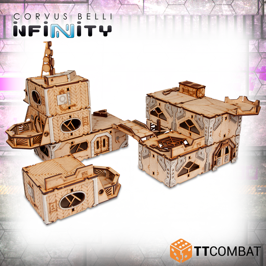 Infinity Business District White Box Bundle