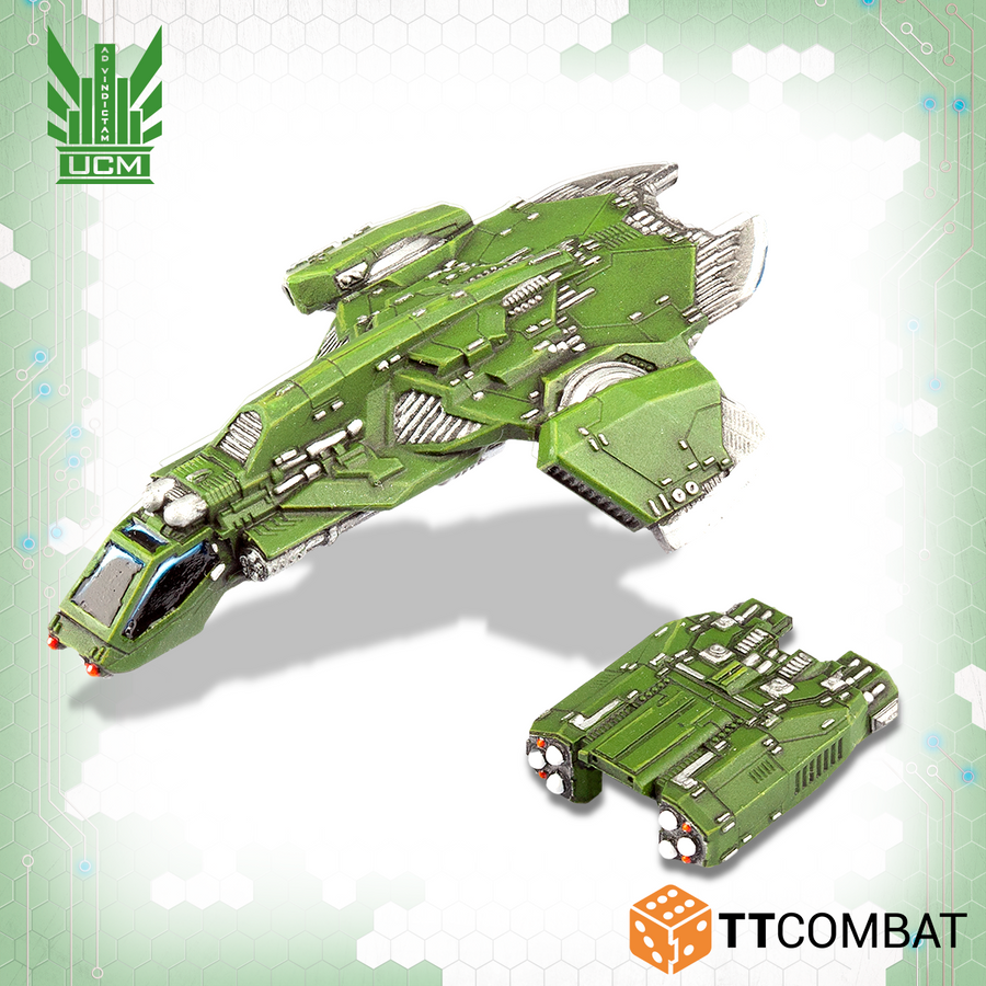 Titania Falcon Gunships