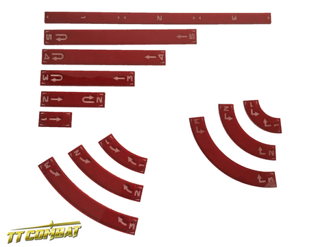 Space Wing Templates (Mars Red)