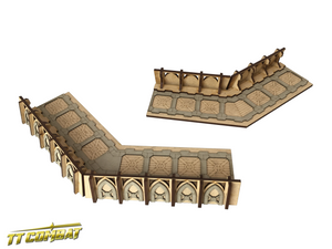 Fortified Trench Small Corner Sections