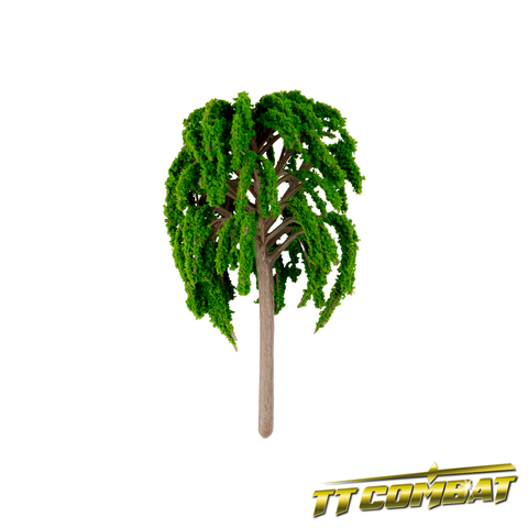 Summer Green Weeping Willow Plastic 10cm (3)