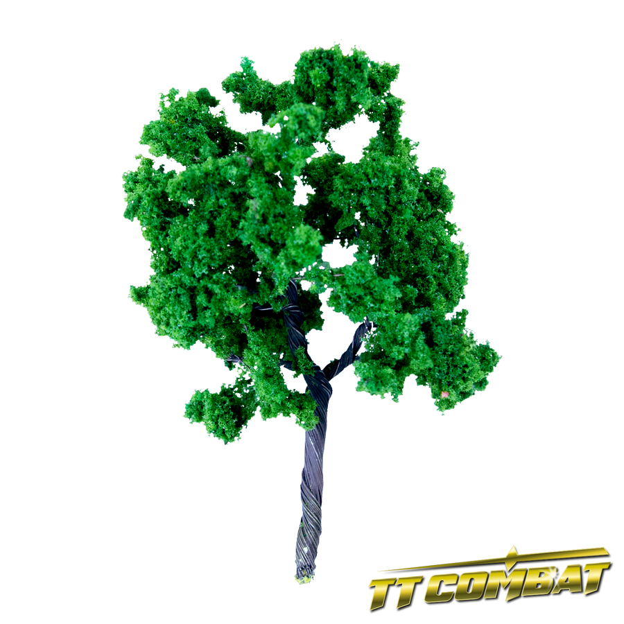 Summer Green Sycamore Tree Iron Wire 10cm (5)