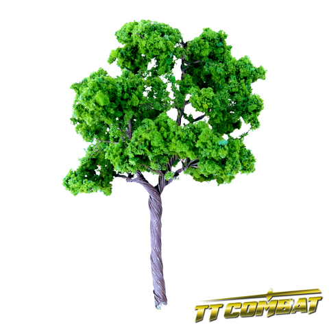 Summer Green Sycamore Tree Iron Wire 14cm (4)