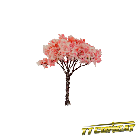 Pink Cherry Blossom Tree Small Iron Wire 4cm (8)