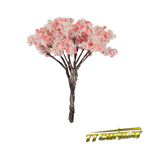 Pink Cherry Blossom Tree Iron Wire 9cm (5)