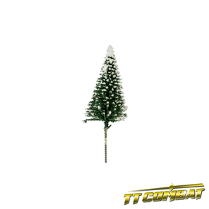 Winter Snow Pine Tree 6cm (8)