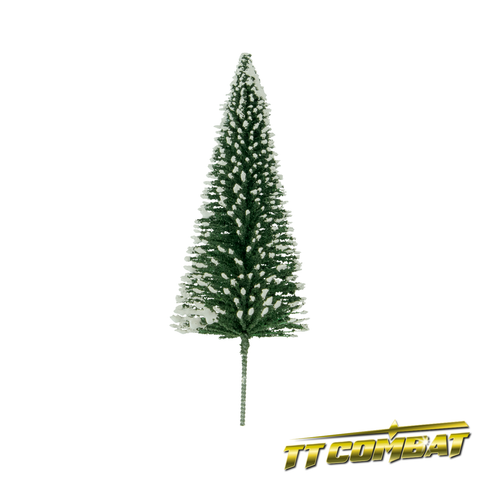Winter Snow Pine Tree 12cm (5)