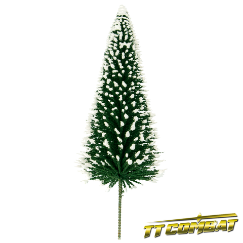 Winter Snow Pine Tree 15cm (4)