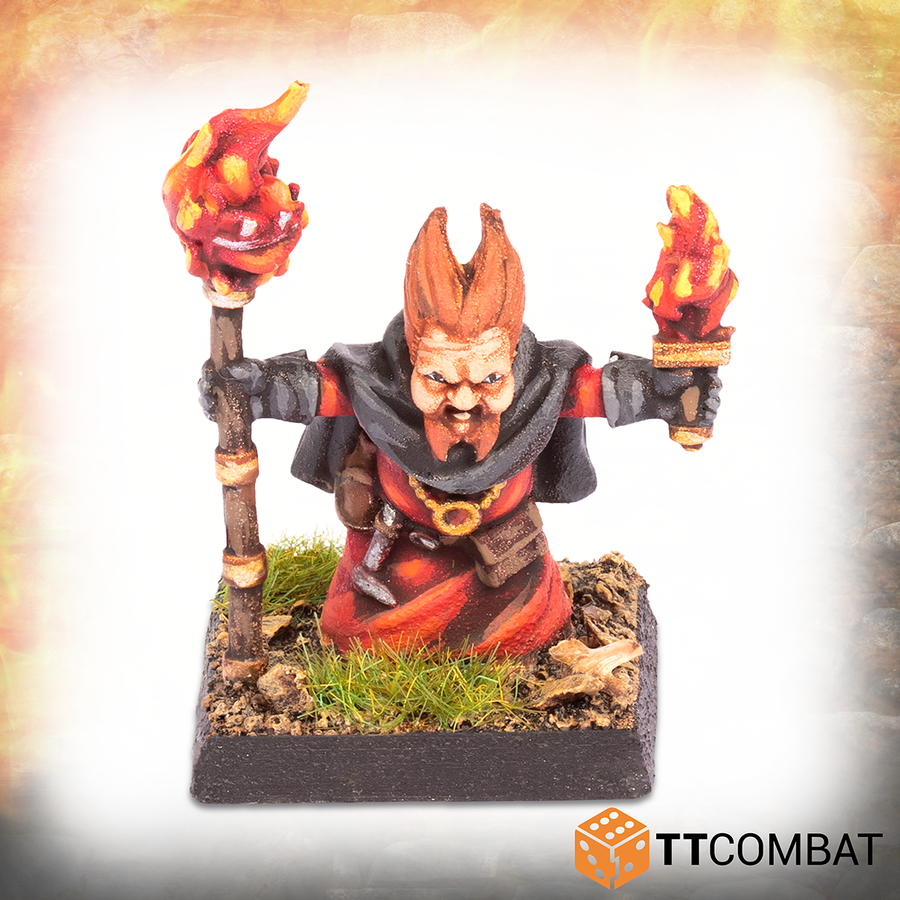 Halfling Fire Wizard *PRE-ORDER 14TH AUGUST*