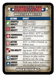 RUMBLESLAM Quick Reference Cards