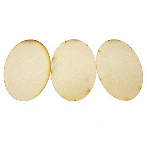 170mm x 110mm Oval Bases (3)