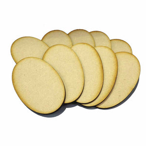 90mm x 52mm Oval Bases