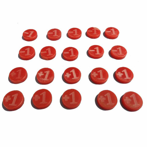 +1/-1 Counters (Red)