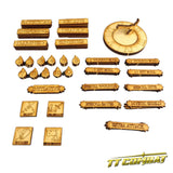 Fantasy Turn Counter and Tokens Set