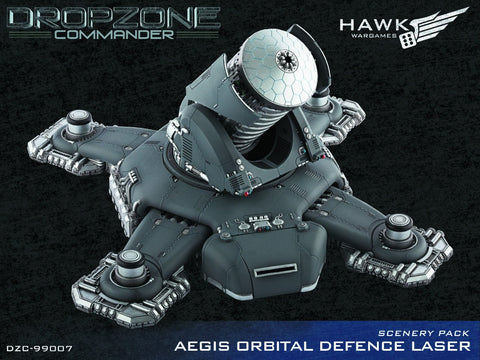 Aegis Orbital Defence Laser Scenery Pack