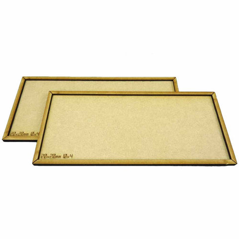 2 Movement Trays 10x4 (20x20mm)