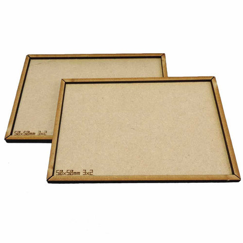 2 Movement Trays 3x2 (50x50mm)