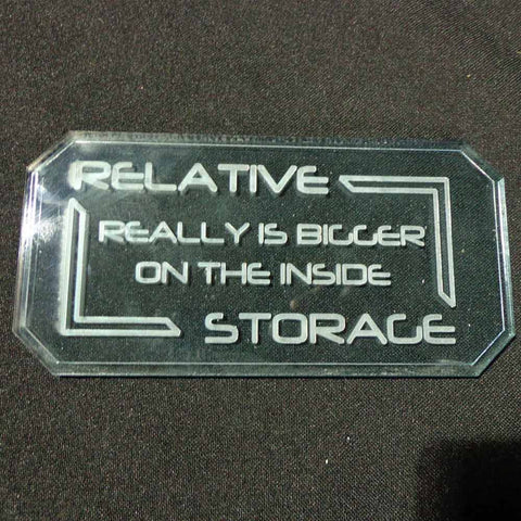 Sign B - Relative Storage