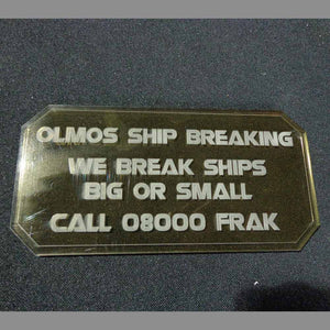 Sign G - Olmos Ship Breaking