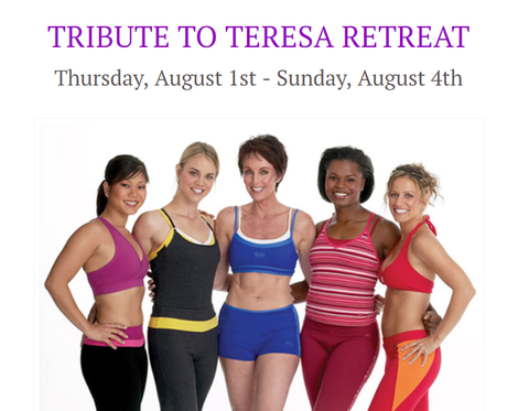 2019 Tribute to Teresa Retreat - Meal And Property Tour Options August 1-4, 2019
