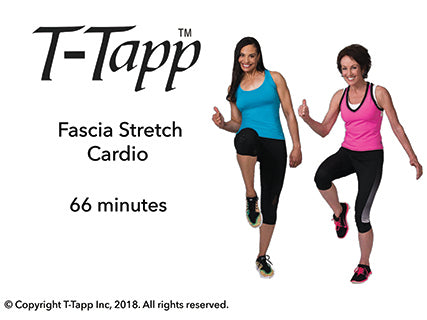 Fascia Stretch Cardio with Teresa and Emily (66 min) - Download