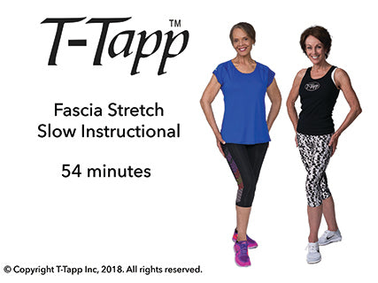 Fascia Stretch Slow Instructional with Teresa and Pat (54 min) - Download