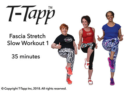 Fascia Stretch Slow Workout 1 with Teresa, Pat, and Berei (35 min)- Download
