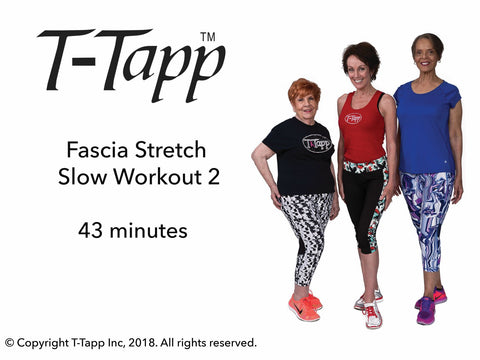 Fascia Stretch Slow Workout 2 with Teresa, Pat, and Berei (43 min) - Download