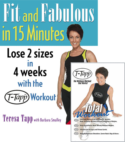 Fit And Fabulous Total Workout Set - Free Shipping (U.S. Only)