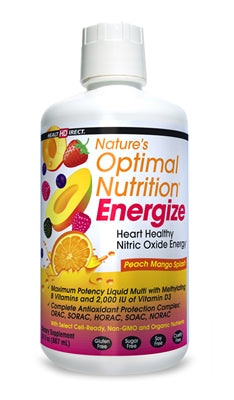 Natures Optimal Nutrition Energize Liquid Multi Vitamin