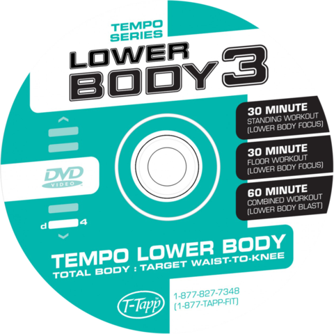 Tempo Series Lower Body 3 Floor Workout Only (30 Min) Download